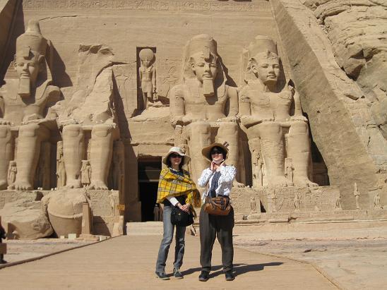エジプト旅行:アブシンベル神殿②
