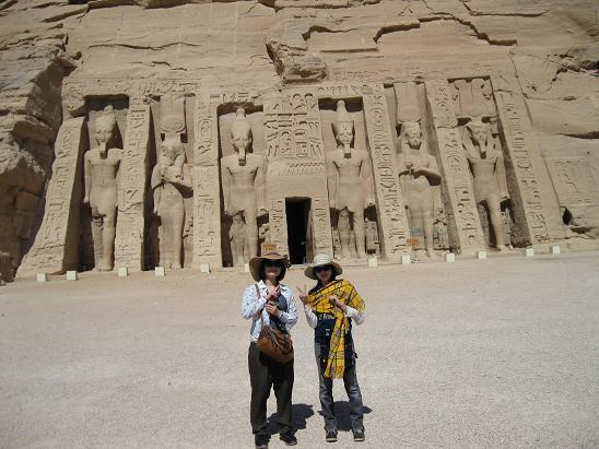 エジプト旅行:アブシンベル小神殿