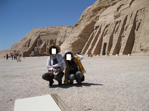 エジプト旅行:アブシンベル神殿③