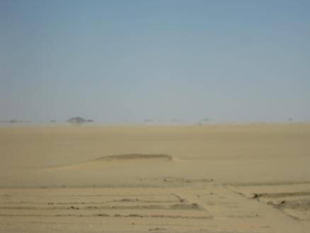 エジプト旅行:蜃気楼②