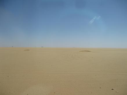 エジプト旅行:蜃気楼