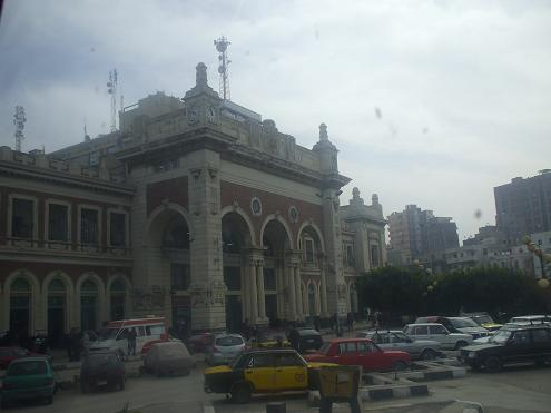 エジプト旅行:アレキサンドリア駅