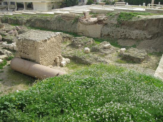 エジプト旅行:アレキサンドリア ポンペイの柱⑤