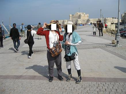 エジプト旅行:アレキサンドリア カイトベイ要塞