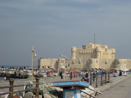 エジプト旅行:アレキサンドリア カイトベイ要塞②