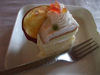 20120214 昼食 ケーキ