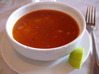 20120214 昼食 トマトスープ