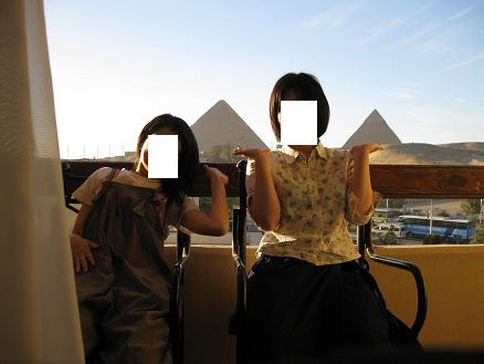 エジプト旅行:ギザの3大ピラミッド ホテル