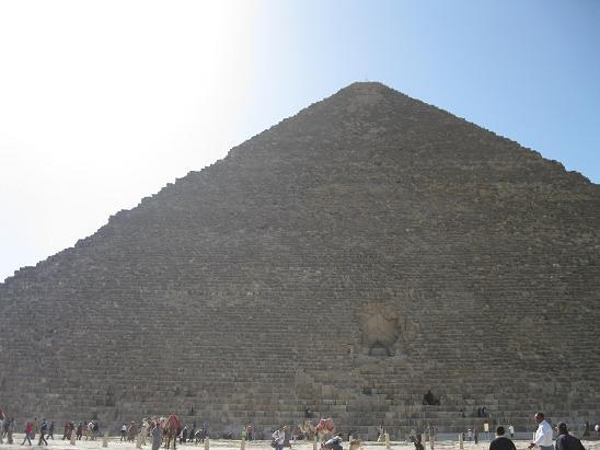 エジプト旅行:クフ王のピラミッド
