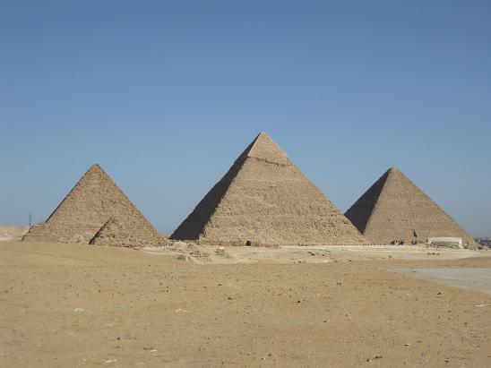 エジプト旅行:ギザの3大ピラミッド②