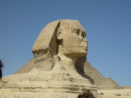 エジプト旅行:スフィンクス③