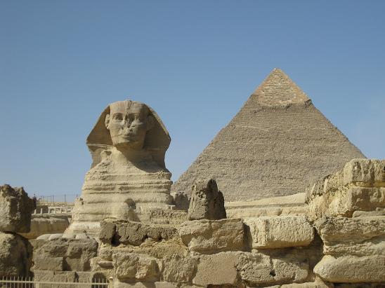 エジプト旅行:スフィンクス