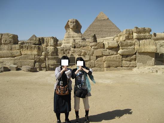 エジプト旅行:スフィンクス②