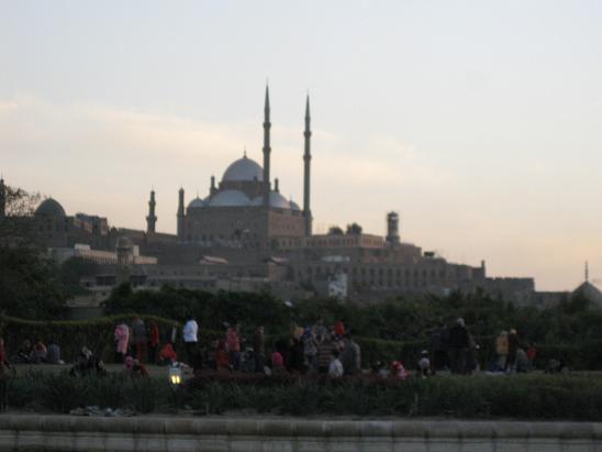 エジプト旅行:アズハル公園