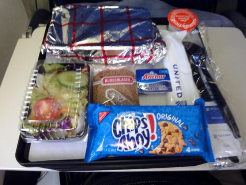 UA873 Food