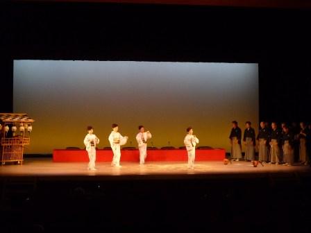 日本舞踊との共演