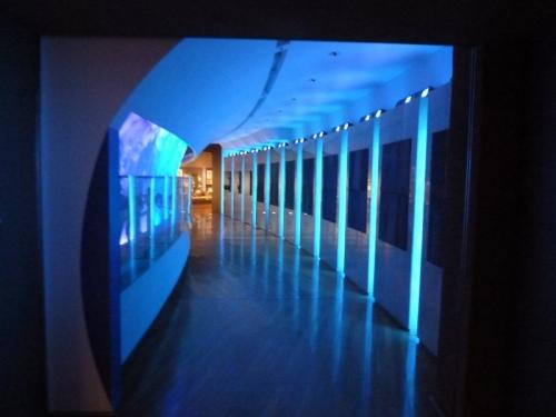『アレが動きます - 富岡市「県立自然史博物館-A地球の時代」』