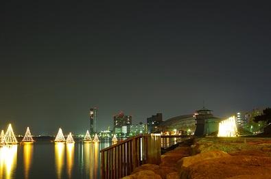25琵琶湖イルミネーション