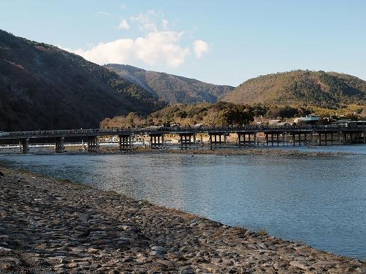 嵐山渡月橋20131229