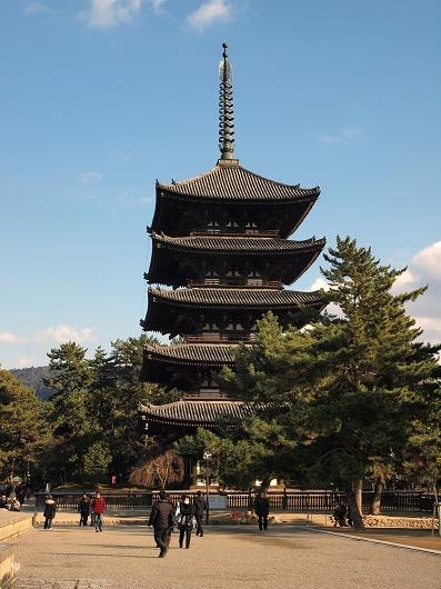 興福寺五重塔20131230