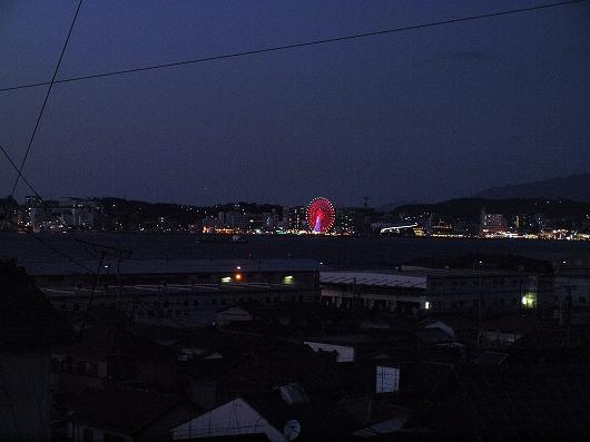 関門海峡の夕暮れ03-20140101