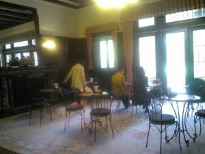 前田邸喫茶室