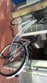 学習机、ビデオテープ山 自転車2台 イスk2