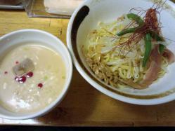 冷製辛トロつけ麺