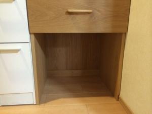 洗面収納棚(下段)