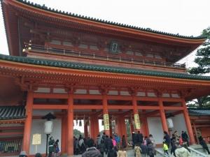 平安神宮、初詣