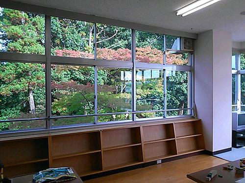 図書室からの景色2