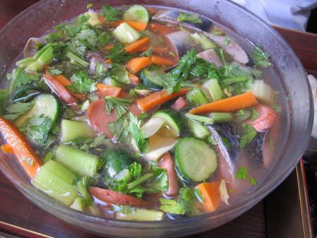 ニシンと野菜の酢漬け