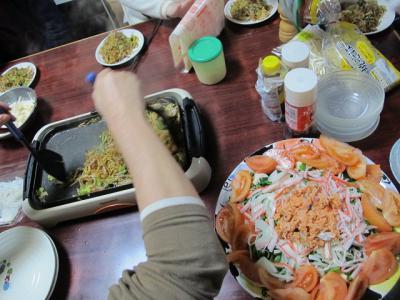 豆腐とほうれん草サラダ