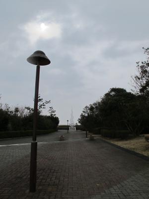 竜洋海洋公園 UFO街灯