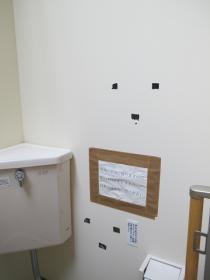 何かが見ているトイレ