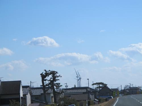 天竜川の風車