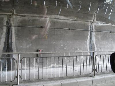 トンネル補修?
