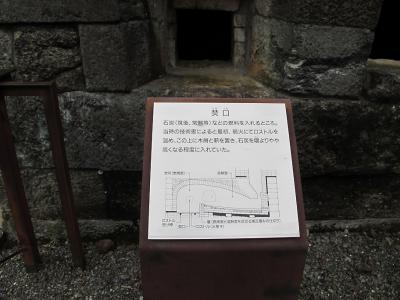 反射炉 焚口