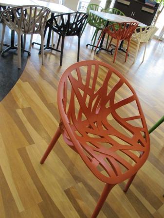 クリスピークリームドーナッツ 椅子