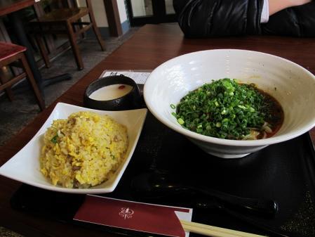 汁無し担担麺炒飯セット