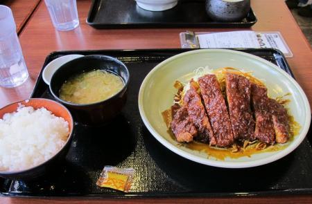 ロース味噌カツ定食
