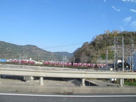 清水 貨物列車