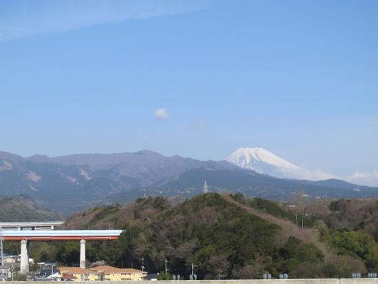箱根越えの富士山
