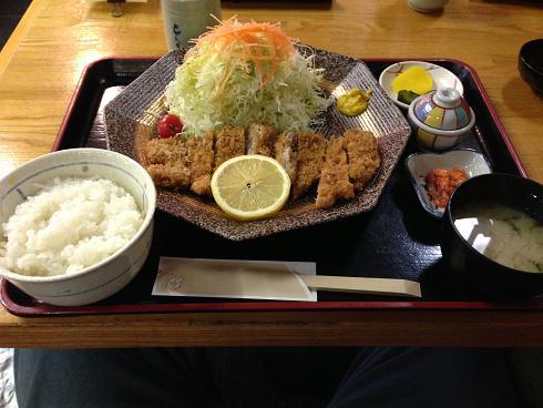 とんきひれかつ定食