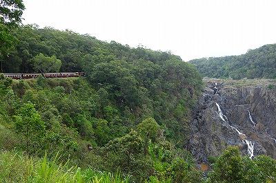 キュランダ鉄道・バロン滝