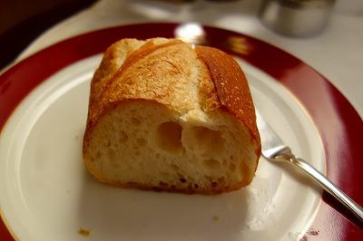 トワイライトエクスプレス フランス料理 パン
