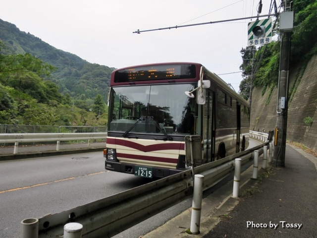 大原行きバス