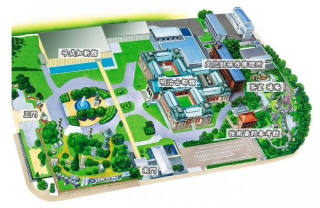 京博俯瞰図
