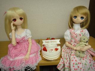 未咲と未佳のお誕生日2012