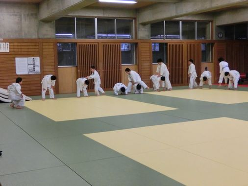 23日の練習 1